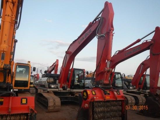 2013 Link Belt 300X3 Excavator-Track