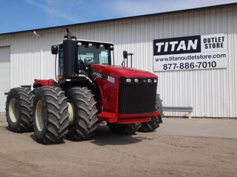 2014 Versatile 400, 1130 Hr, Lux Cab, Hi Cap Hyd Pump, Weights Tractores a la venta