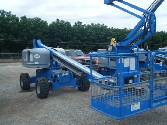 2014 Genie S40 Boom Lift-Telescopic