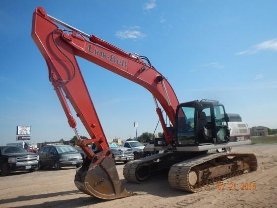 2014 Link Belt 300X3EX Excavator-Track