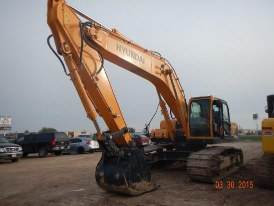 2014 Hyundai R330LC-9A Excavator-Track