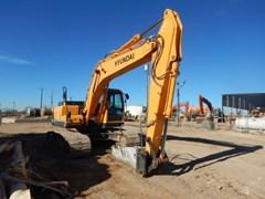 Excavator-Track  2014 Hyundai R220LC-9A