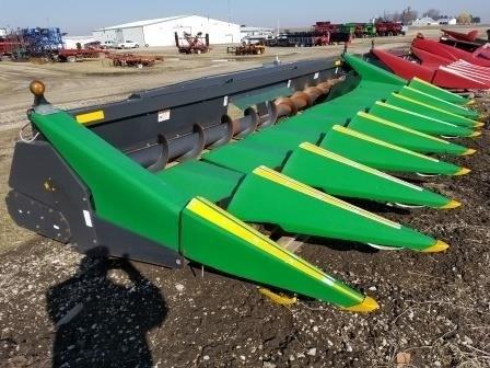 2012 Drago 830, Fits JD 9770 & S Series, HHC, FT, Knife Rls  Cabezales para maíz a la venta