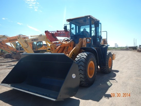 2014 Hyundai HL757-9A Wheel Loader