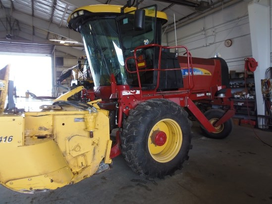 2011 New Holland H8080 Windrower-Self Propelled For Sale