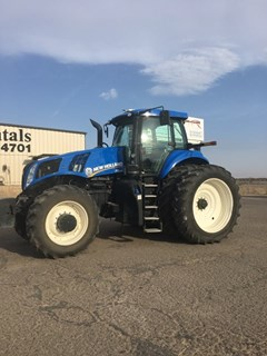 Tractor :  2014 New Holland T8.350