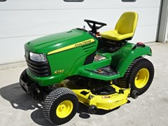 Riding Mower For Sale 2011 John Deere X740 , 24 HP