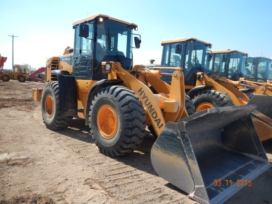 2014 Hyundai HL740-9A Wheel Loader