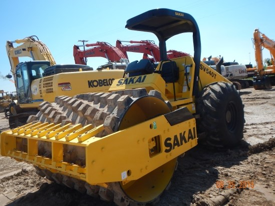 2014 Sakai SV540TF Rollers/Compactors