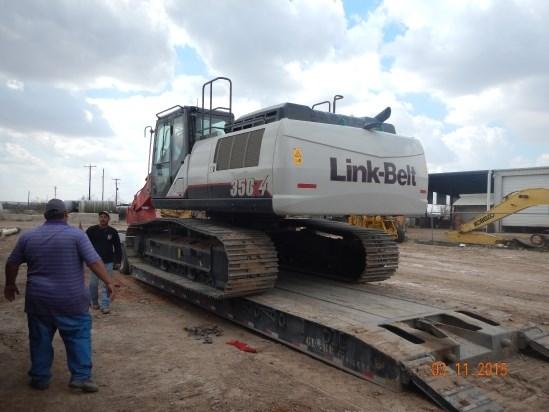 2014 Link Belt 350X4EX Excavator-Track