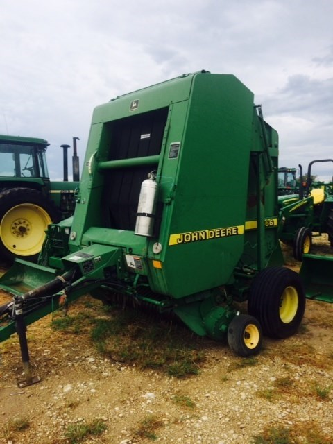 1997 John Deere 466 Baler-Round For Sale