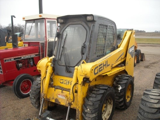 2010 Gehl 5640E Skid Steer For Sale