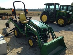 Tractor For Sale:  2013 John Deere 1025R TLB , 25 HP