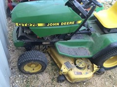 Riding Mower For Sale:  1995 John Deere GT275 , 17 HP