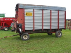 Forage Box-Wagon Mounted For Sale H & S XT88