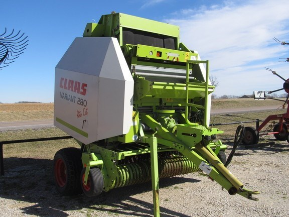 2010 Claas Variant 280RC Baler-Round For Sale