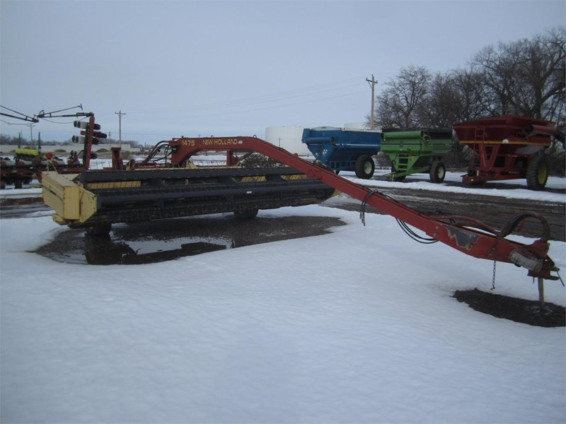 1997 New Holland 1475 Windrower For Sale