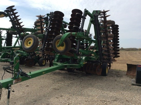2009 John Deere 637 Disk Harrow For Sale