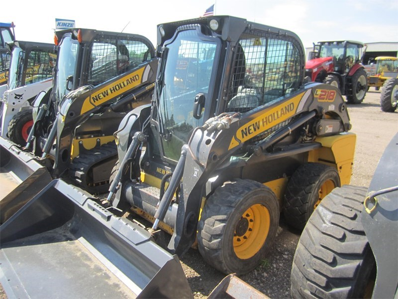 2014 New Holland L218 Skid Steer For Sale