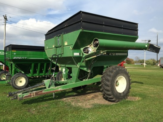 2000 Brent 472 Grain Cart For Sale