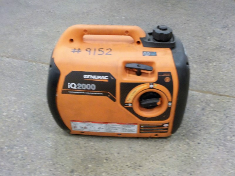 2015 Generac IQ2000 Generator