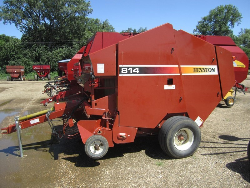 2005 Hesston 814 Baler-Round For Sale