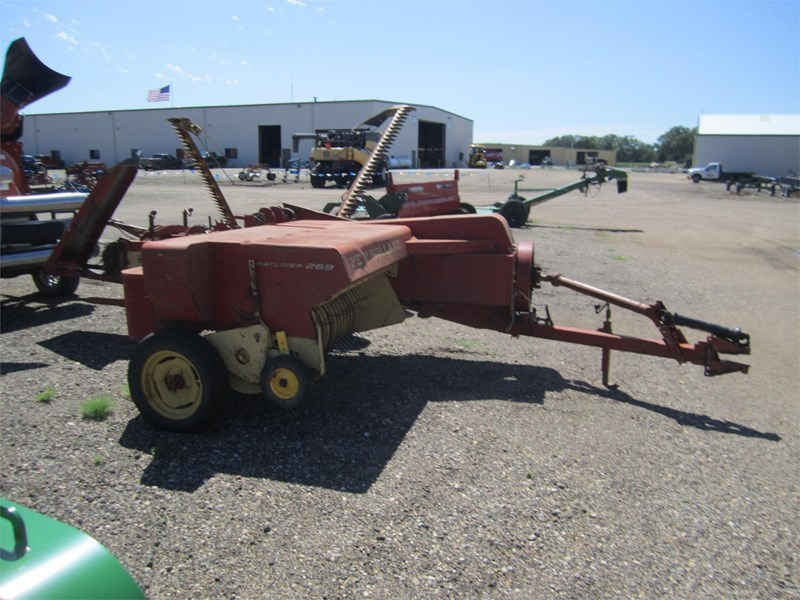 1969 New Holland 269 Baler-Square For Sale