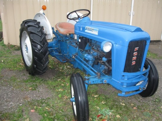 1963 Ford Tractor Model 2000 : Ford tractor for sale flint new holland inc mi
