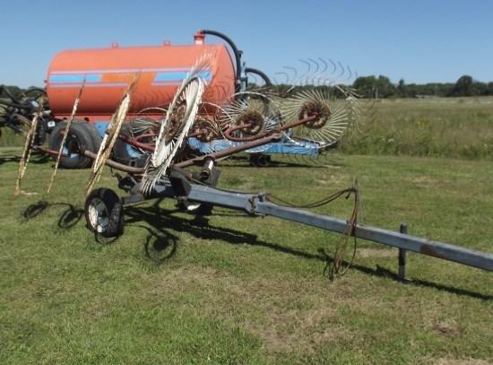 Ogden Metalworks 8 WHEEL Hay Rake-Wheel For Sale