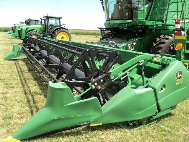 2012 John Deere 625F Header-Auger/Flex For Sale