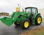 Tractor For Sale: 2015 John Deere 6115M, 115 HP