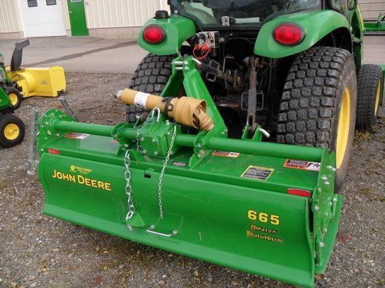 2013 John Deere 665 Rotary Tiller For Sale Me Vt
