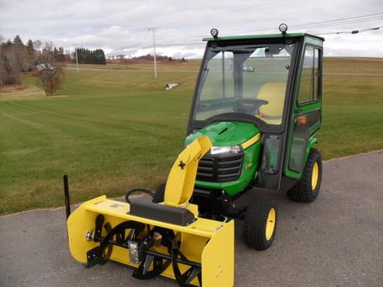 2015 john deere x758 riding mower for sale me vt for Used garden tractors for sale near me