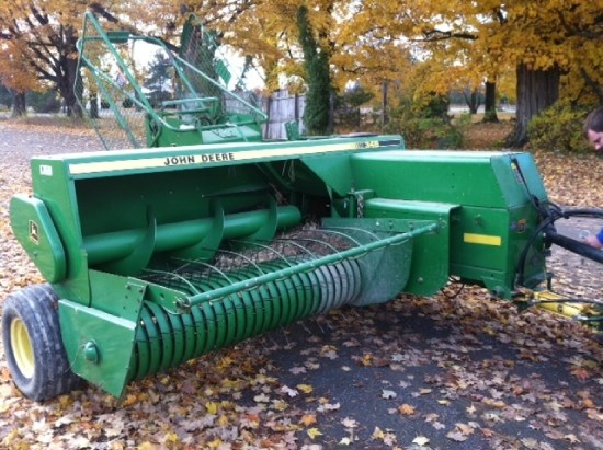 2001 John Deere 348 Baler-Square For Sale