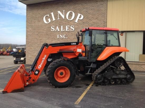 2009 Kubota M126XDTPC Tractor For Sale