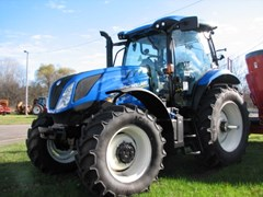 Tractor For Sale:  New Holland T6.175 NEW , 145 HP