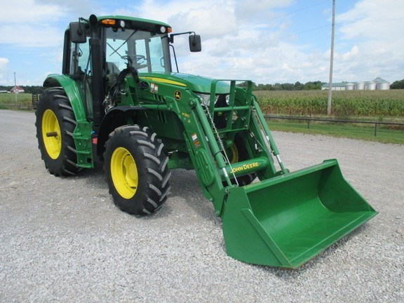 2015 John Deere 6105M Tractor For Sale