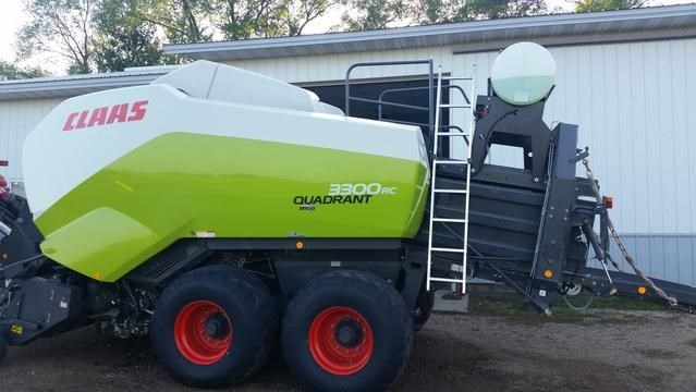 2015 Claas 3300 Baler-Square For Sale