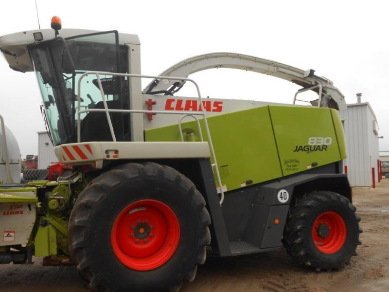 2011 Claas 830GE Forage Harvester-Self Propelled For Sale