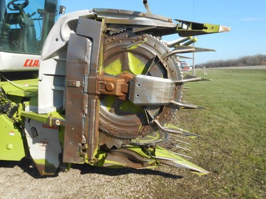 2011 Claas RU450 Forage Head-Row Crop For Sale