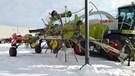 Hay Rake-Wheel For Sale:  2011 Claas LINER1750