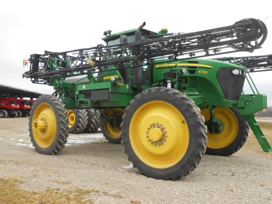 2008 John Deere 4730 90' Sprayer-Self Propelled For Sale