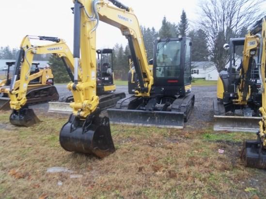 2015 Yanmar VIO80 Excavator-Track For Sale