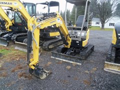 Excavator-Mini For Sale:  2015 Yanmar VIO17 , 13 HP