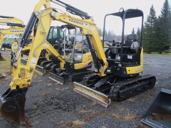 2015 Yanmar VIO25 6A Excavator-Mini For Sale