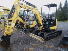 Excavator-Mini For Sale:  2015 Yanmar VIO25 6A , 20 HP