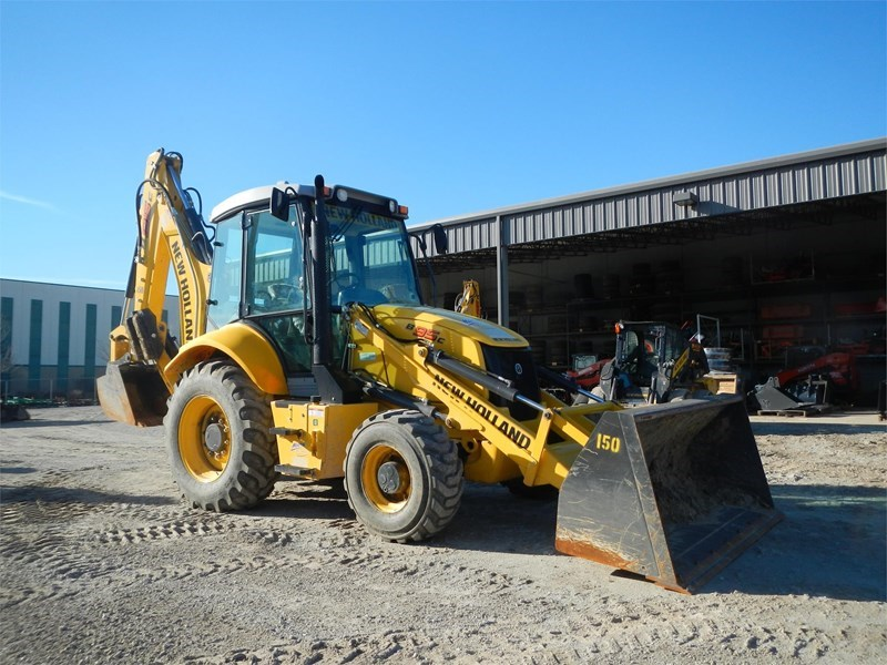 2015 New Holland B95C Loader Backhoe