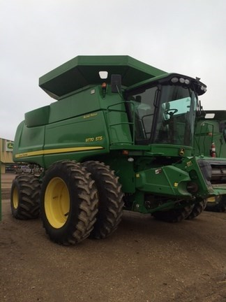2010 John Deere 9770 STS Combine For Sale