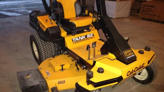 2012 Cub Cadet SZ60 TANK Riding Mower For Sale