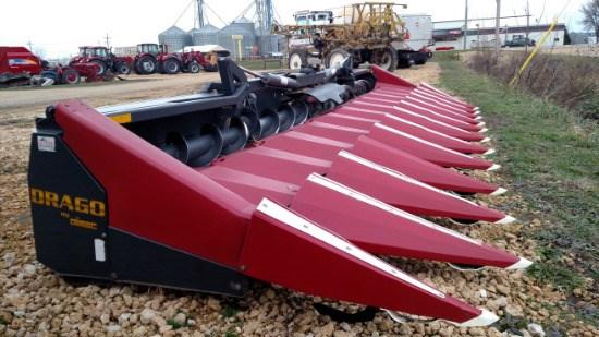 2012 Drago 1230F Header-Row Crop For Sale